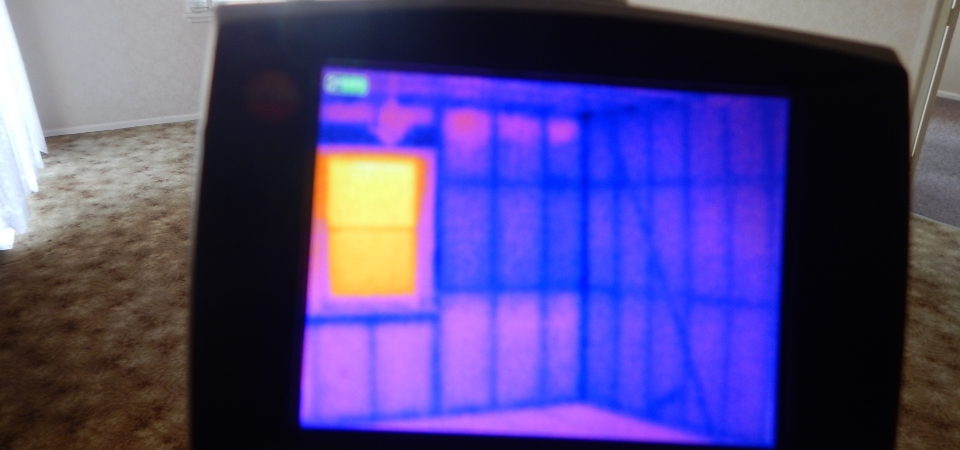 Thermal camera inspection
